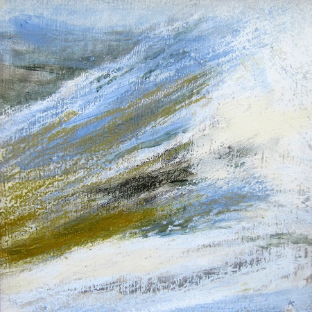 'On the Pentland Hills, March'
