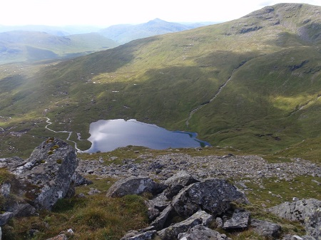 Loch Oss and Ben Oss