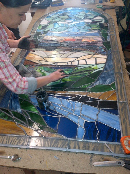 Stewart Souter, Stained Glass & Painting