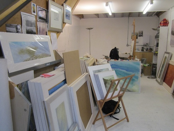 Mayhem in the Studio tidy-up
