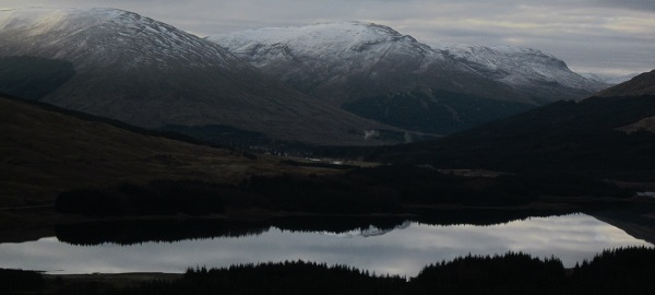Above Loch Tulla, a grey November morning