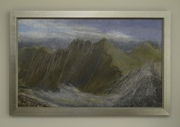 An Teallach painting finished and framed
