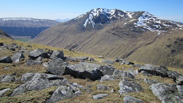From the summit of Beinn nam Fuaran