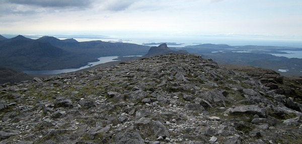 From the summit of Cul Mor