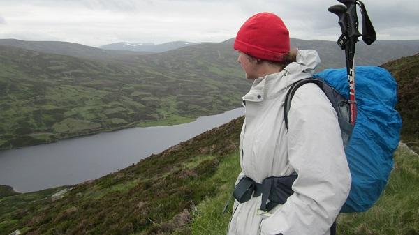 Overlooking Loch Callater