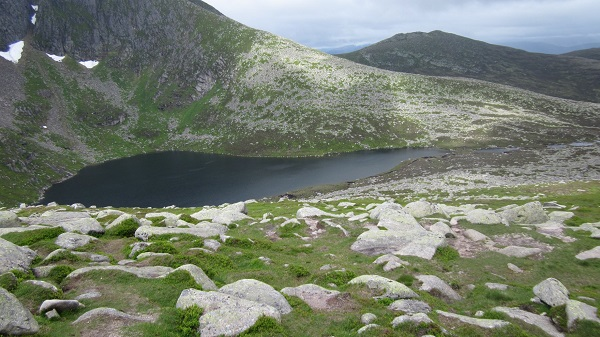 The NE facing corrie of Lochnagar