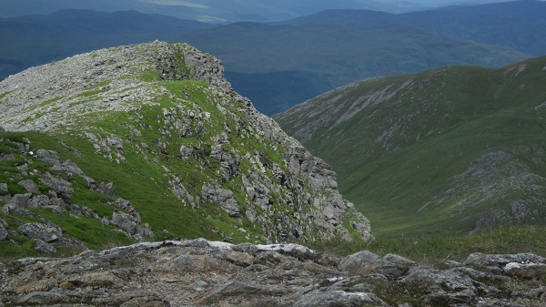 From the summit of Stuc a' Chroin