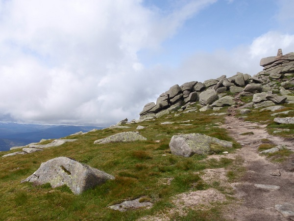 The summit of Lochnagar