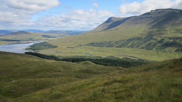 From the eastern end of Ben Inverveigh