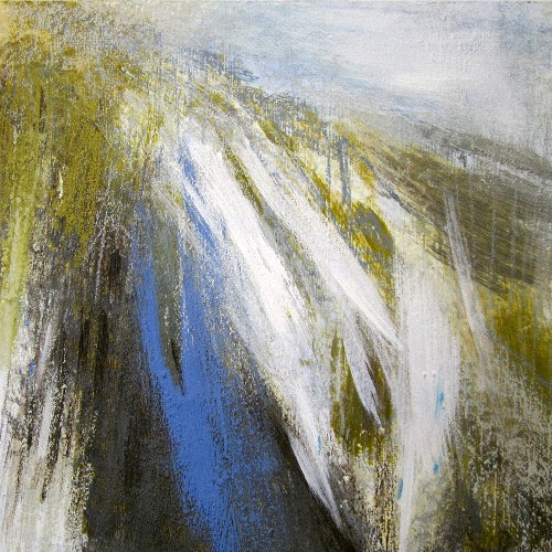 'From Conival, May' Acrylic & Pastel  40 x 40 cm, RP £720