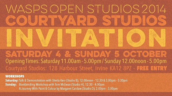 Open Studios Invitation 2014