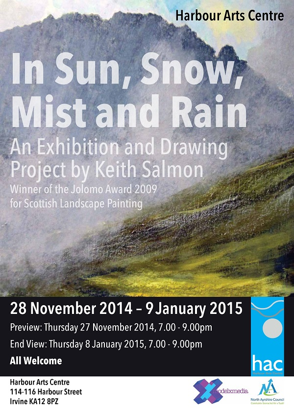 Keith Salmon Harbour Arts Centre Exhibition 2014