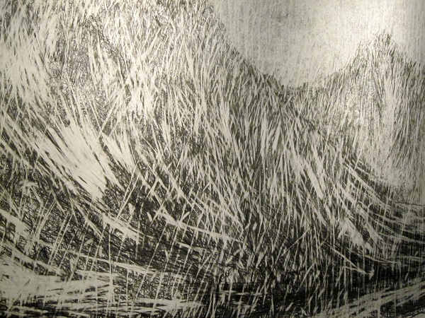 Glen Rosa drawing, detail