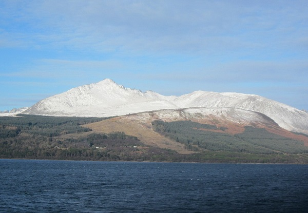 Approaching the Isle of Arran