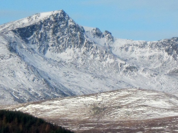 A fuzzy Beinn Nuis ....I think!
