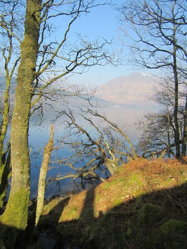 April colours, Loch Lomond