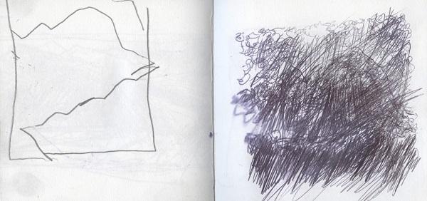 'Suilven sketch'