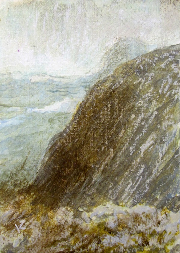 scottish mountain landscape painting