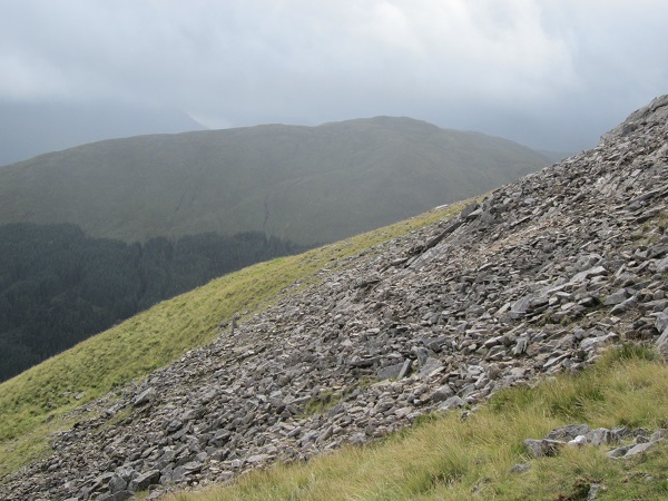 View from Beinn Odhar of the old mines
