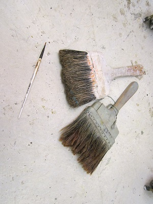 Big Paint Brushes